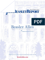 Jere Beasley Report - September 2015