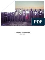 ChangeFire Annual Report 2013-2014
