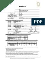 Garlock Style 706 Data Sheet