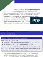 Teoria de la Función Implicita (Matematica Economica)