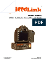 Juicedlink Dt454 Dslr Camera Microphone Preamplifier