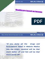 Healthcare Utilization Based on Income