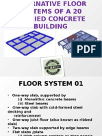 Alternative Floor Systems of a 20 Storied Concrete v2.0