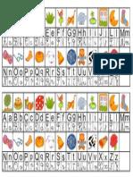 Alfabeto Para Colar No Caderno 1ãâºano (1)