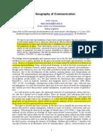 Artigo-For a Geography of Communication
