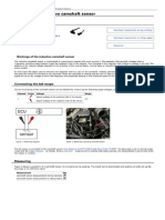 Inductive Camshaft Sensor Measurement
