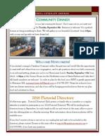Newsletter - September 2015