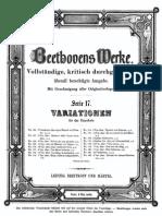 Beethoven - Variations March of Dressler