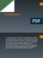 Competitividad y Planeacion Estrategica