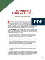 Manifiesto Gastronomia Peruana 2021