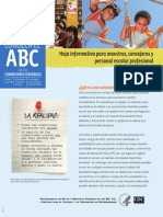 TBI Factsheet Teachers Spanish-A