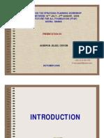 Strategic Plan Report of FFAF