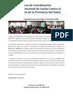 MCILCCPS - Nota de Prensa 03 - Desarrollo Conferencia Transparencia Alcaldes