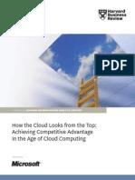 Obteniendo ventajas competitivas con el Cloud Computing
