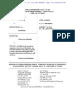 Miller v. Davis - Davis response.pdf