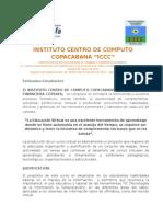 01 Bienvenida Cotrafa y Iccc T-II-2015 - Cootrafa