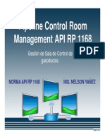 5. Sala de Control API RP 1168