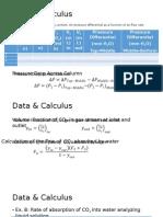 Data & Calculus Absorption