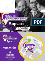 Agenda Zona de emprendimiento by Apps.co