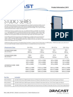 Dracast Led1000 Studio Series Info Sheet