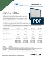 Dracast Led2000 Studio Series Info Sheet