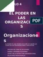 El Poder en Las Organizaciones