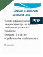 Aspect. Gnrales Del Transp Marítimo de Carga