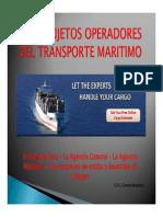 los Sujetos Operadores Del Transporte Maritimo (v)
