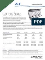 Dracast Ledt4000 Tube Series Info Sheet