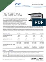 Dracast Ledt1000 Tube Series Info Sheet
