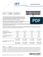 Dracast Ledt2000 Tube Series Info Sheet
