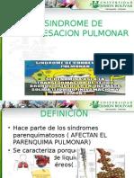 Sindrome de Condensacion Pulmonar