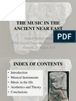 Ancient Near East Music
