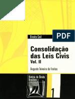 Consolidacao das leis civis - Freitas