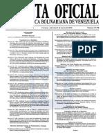 Sumario Gaceta Oficial 39.378