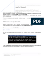 Tutorial Instalacao Java Windows