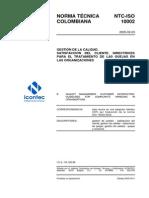NTC-ISO10002
