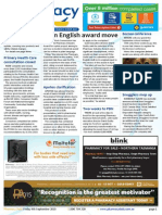Pharmacy Daily for Fri 04 Sep 2015 - Plain English award move, Board internship warning, Apotex clarification, Events Calendar and much more