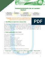 Instrucciones Act 2 Dimensionamiento de Un Lavador Venturi Word