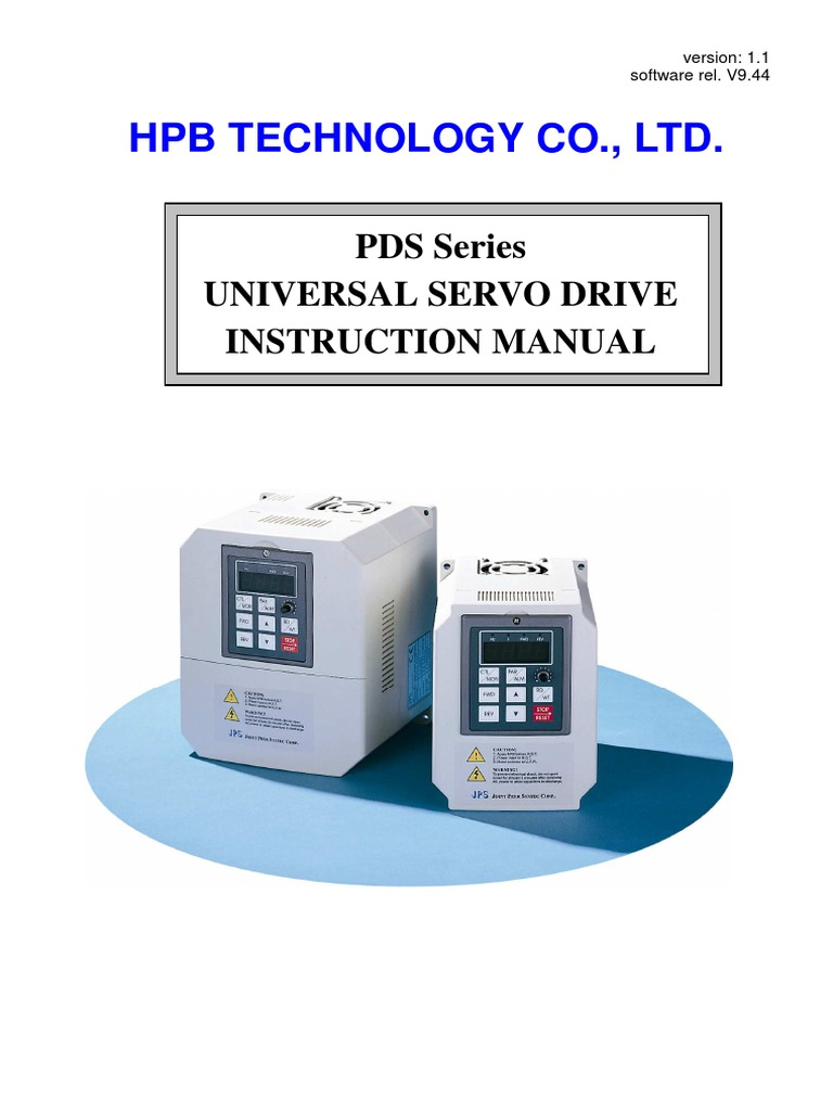 PDS_HPB SERVO MANUAL pdf | Bipolar Junction Transistor | Servomechanism