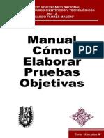 Manual como elaborar pruebas objetivas.pdf