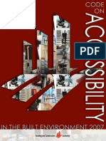 Accessibility Code 2007