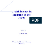 Contemporary Sociology in Pakistan
