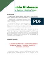 Animación Misionera_Equipo de Pastoral Misionera de La Dióce