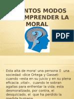 Distinto Modo de Moral