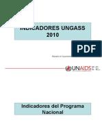 PRESENTACIÓN INFORMACIÓN_UNGASS_2010