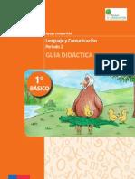 Guía Didáctica Lenguaje y Comunicación 1° Básico