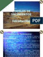 Modelos de Yacimientos