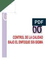 Control de La Calidad Bajo El Enfoque Six-sigma