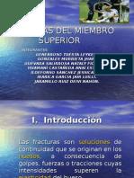 Fracturas Del Miembro Superior
